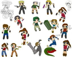 Resident Evil: PUFFED by -babykefka-