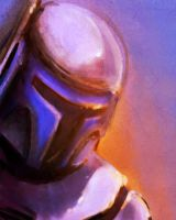 Jango speed painting by rayn44
