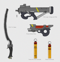 Sojourner Weapons by Zaeta-K