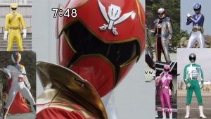 Gokai Red Diff Colors by LavenderRanger