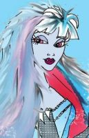 Snow Queen Abbey close up by Selinelle