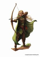 Warband - Elf by joeshawcross