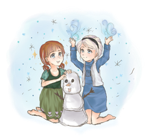 Do You Wanna Build A Snowman? by HazyDayClouds
