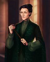 Minerva McGonagall by kit466
