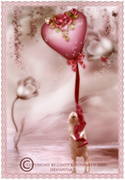 Happy Valentine to you by CindysArt