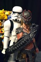 Stormtrooper and Machiko Cosplay by masimage