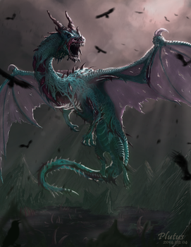 Undead Dragon by plutus0519