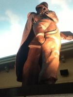 1950's statue by bixth