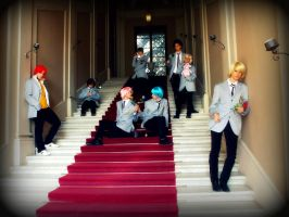 Ouran Host Club by NaTemari