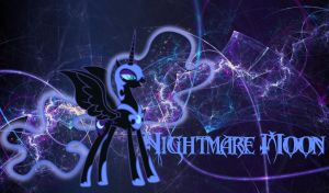 Nightmare Moon Wallpaper by StormLament