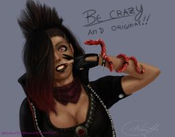 Be crazy by MeLiNaHTheMixed