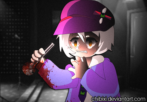 The moment you realize-- WIP Murder Mystery Game by Chibixi