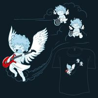 Woot Shirt - Cherub Rock by fablefire