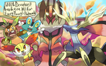 Pokemon X and Y Deviation 1,000 by Phatmon66