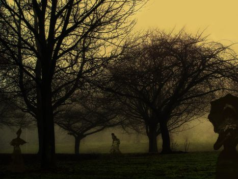 Walking in the Park by CharleneApril