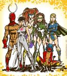 DA Supergroup in color by TheCosmicBeholder