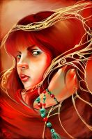 Lady in Red by mad-snaiL