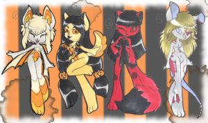 Halloween Adopts {OPEN - SET PRICE}{UPDATED} by lithiumMistress