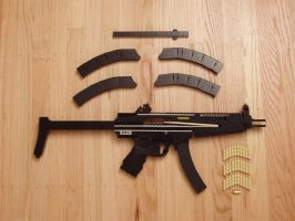 Heckler and Koch MP5 A5 v2 by xjcdentonx