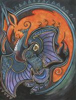 Aesops Fable The Fox and the Crow by Little-Asya