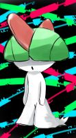 Ralts by lowrikate14