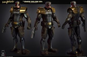 Judge Dredd Presentation Shot by Stepanchikov