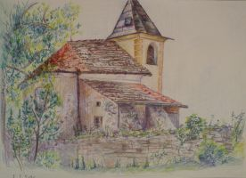 Medieval Church by great-queen-morrigan