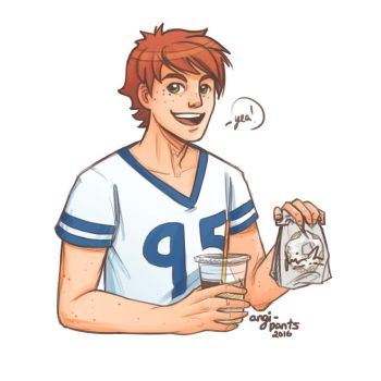 Connor-Donut Day-2016 by Yami08