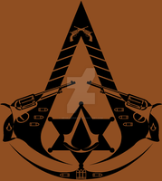 Wild West Assassin Symbol by MehranPersia