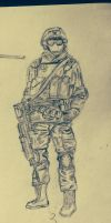 Solo Sketch BF4 by Nics-MP
