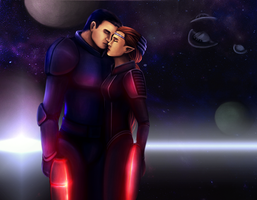 Sci Fi Love by Aztarieth