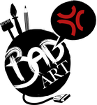 new* BAD ART logo - by AsuHan
