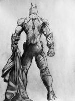Batman Arkham Knight drawing by DiegoE05