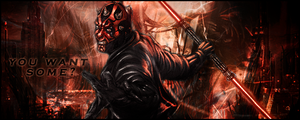Darth Maul by Spider-Man91