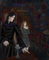 Dark Arts library by Eliathanis