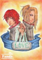 l o v e is art by Rock-Monster