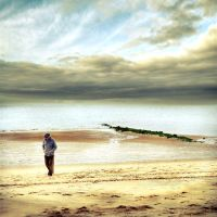 The melancholy of an old man.. by ChristineAmat
