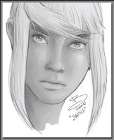 Quick Portrait of Samus by Callilf