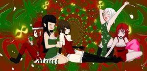 .:Merry Christmas to you:. by Bloody-Scarlett