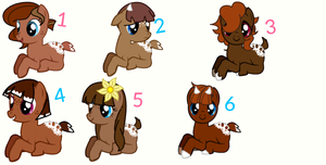 Autumn and Rose's fawns revealed! by TwilightLuv10