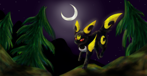 Mega Umbreon [contest entree] by Uluri