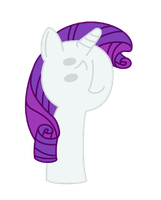 Rarity looking up by Turag