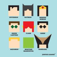 JLA Squared by mattcantdraw