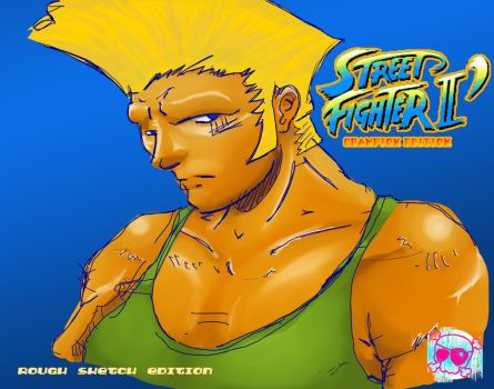 GUILE-Speed Sketch 1 by am4jrk