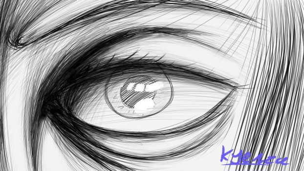 eye by KyenzaCartoons