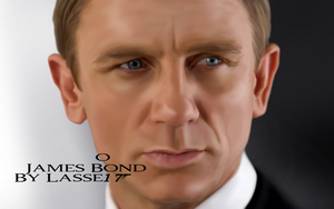 James Bond - Daniel Craig - painting by Lasse17