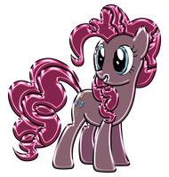 Pinkie Pie Chrome by DuskBrony