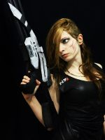 Mass Effect 3 -  casual outfit by IssssE