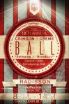 Crimson and Creme Ball 2 by V1sualPoetry