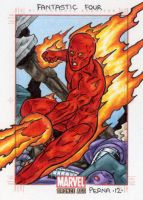 Human Torch - Marvel Bronze Age by tonyperna